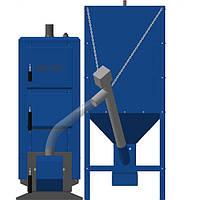 Котлы длительного горения с автоматической подачей топлива  НЕУС-ПЕЛЛЕТ 19 кВт, фото 1