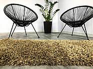 Ковер ШЕГИ коричневый 80x150 см, фото 3