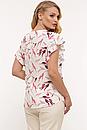 Блуза летняя большого размера Алина (4 цвета), фото 6