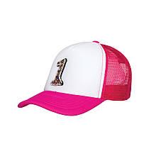 Дитяча кепка для дівчинки BARBARAS Польща XB97 Рожевий