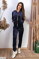 Красивый велюровый женский спортивный костюм арт 80