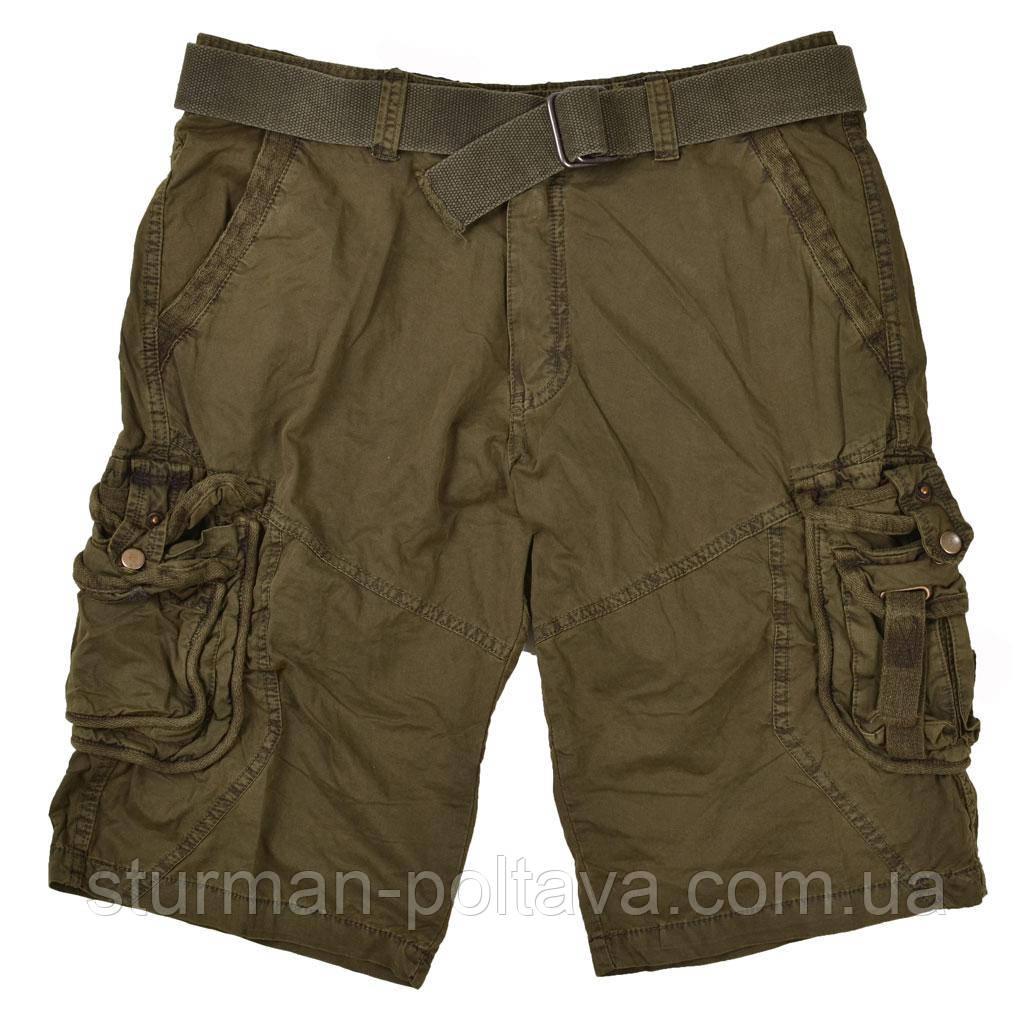 Шорты мужские  туристические винтажные  VINTAGE SURVIVAL SHORTS  цвет  олива  Mil-Tec Германия