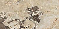 Плитка керамогранитная , CASA DOLCE CASA,ONYX&MORE GOLDEN BLEND GLO 6MM 120X280 R,Италия,6мм
