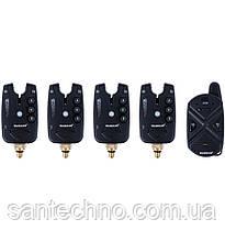 Набір сигналізаторів покльовки з пейджером World4Carp FА 211-4