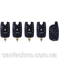 Набор сигнализаторов поклевки с пейджером World4Carp FА 211-4
