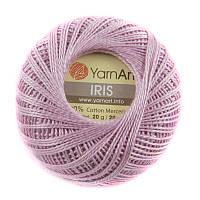 Пряжа YarnArt IRIS № 917 (Ярн Арт Ирис) 100% Хлопок