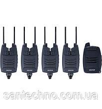 Набір сигналізаторів покльовки з пейджером World4Carp WC 320 Набір 6+1