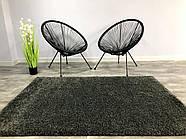 Ковер ШЕГИ темно-серый 120x170 см, фото 3