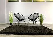 Ковер ШЕГИ черный 120x170 см, фото 2