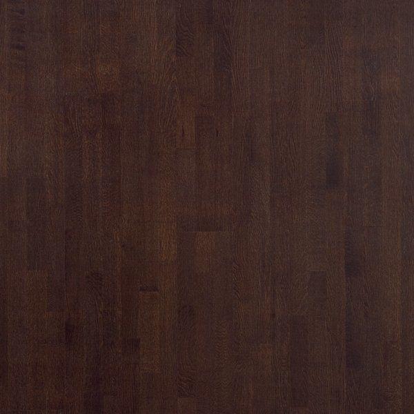 Паркет Polarwood Дуб DARK BROWN, натуральный , лак венге