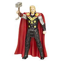 Игровая базовая Фигурка Тор Мстители Марвел Эра Альтрона, высота 9.5 см - Thor, Avengers Age of Ultron, Hasbro