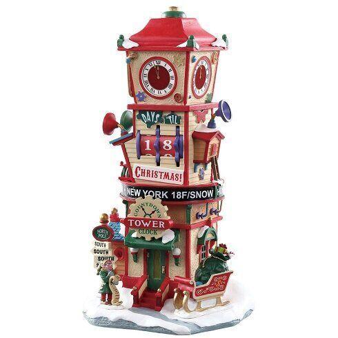 Рождественская часовая башня