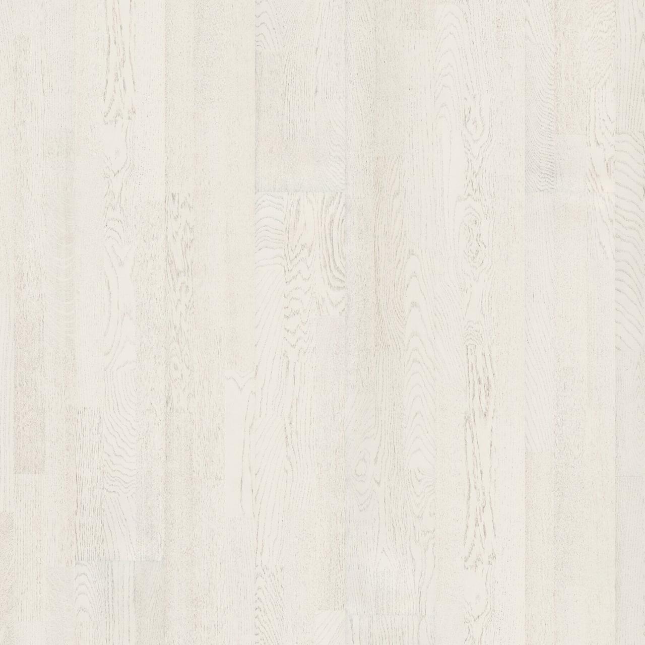 Паркет Upofloor Дуб MARBLE білий, натуральный , снежно-белый лак