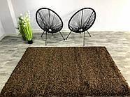 Ковер ШЕГИ коричневый 140x200 см, фото 2
