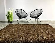 Ковер ШЕГИ коричневый 140x200 см, фото 3