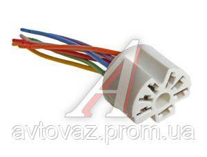 Разъем переключателя отопителя кондиционера с проводом ВАЗ 2108, ВАЗ 2112