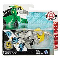 Игровой Робот Трансформер Гримлок в золотой броне Роботы под прикрытием 12 см - Gold armor Grimlock, RID, Hasbro