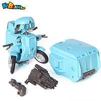 """Игрушка для мальчиков Робот-Трансформер Сквикс Трансформеры-5 """"Последний Рыцарь"""" 10 см - Sqweeks, TF5, KuBianBao"""