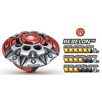 Волчек нападающий Ребелон команды Паладин - Rebelon, Team Paladin, Battle Strikers, Mega Bloks Мега Блокс