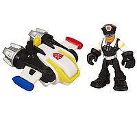 Детский Игровой Набор Джек Трекер с реактивным ранцем Боты спасатели 6 см - Billy&Jet Pack, Rescue Bots,