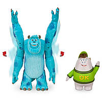 Набор фигурок Салли и Скотт Склизли Университет монстров, подвижные, Sulley Squishy Monster University Disney