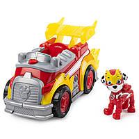 Игровой набор Щенячий Патруль: Маршалл и мегапожарная машина - Marshall Deluxe Vehicle, Super Paws, Spin