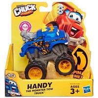 Машинка підйомний кран Хенді з м/ф Чак і його друзі, висота 10 см - Handy, Chuck-n-Friends, Тонка, Hasbro