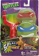 Набір фігурок -липучок з рогаткою і мішенню Nickelodeon - Splat Strike, TMNT, Tech4Kids