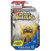 Игровой Автобот Трансформер для мальчиков Бамблби Трансформеры Прайм Охотники на чудовищ 10 см -  Legion, Hasbro