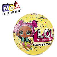 Игровой набор с куклой ЛОЛ Конфетти серия 3 - L.O.L. Pop, Confetti, S3, MGA