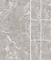 Плитка керамогранитная , CASA DOLCE CASA,ONYX&MORE WHITE PORPHYRY STR6MM 60X120 R,Италия,6мм