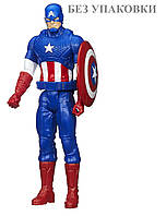 Большая игрушка Капитан Америка 30 см из серии Титаны (Мстители) - Captain America, Titans, Avengers, Hasbro