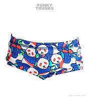 Детские хлоростойкие плавки Funky Trunks Pandamania FTS002
