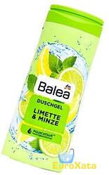 Гель для душа Balea Limette Minze Лайм Мята