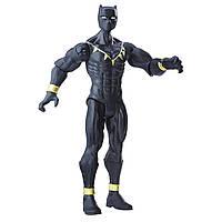 Игровая базовая Фигурка Черная Пантера Марвел Мстители, высота 15 см - Black Panther, Avengers, Basic, Hasbro