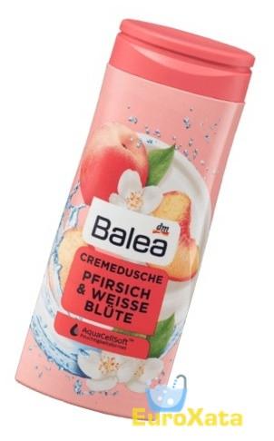 Гель для душа Balea pfirsich weisse blute Персил/белый цевток