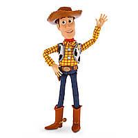 Говорящая Игровая Кукла Шериф Вуди История игрушек, высота 41 см - Pull String Talking Woody, Toy Story,