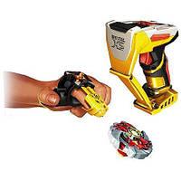 Игровой Стартовый набор Волчок Огненный Ястреб с магнитным наперстком - Firehawk, Battle Strikers, Mega Bloks