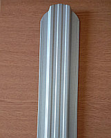 Євроштахети 115 мм ширина односторонній, двохсторонній Цинк, алюцинк (штахетник металевий)