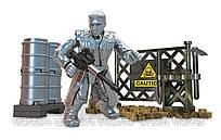 Игровой Конструктор Терминатор Генезис Т-1000, 33 детали с фигуркой - Terminator, Genisys, T-1000, Mega Bloks