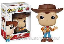 Игровая Фигурка Вуди 168 История игрушек Фанко Поп, 9.5 см, для детей от 3 лет - Woody Toy Story, Funko Pop