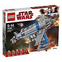 Lego Star Wars Бомбардувальник Опору 75188