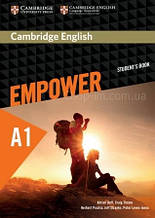 Cambridge English Empower A1 Starter Student's Book / Учебник