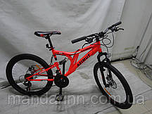 Велосипед Azimut Blackmount 24 дюйма. Рама 16. Дисковые тормоза. Рост 130-170см. Шимано.