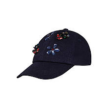 Дитяча кепка для дівчинки BARBARAS Польща XB94 Синій