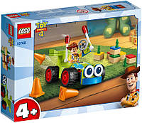 Lego Toy Story 4 Вуди на машине 10766, фото 1