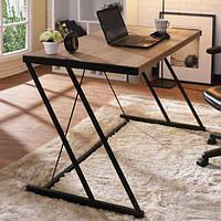 Дизайнерский Письменный офисный стол в стиле Лофт Loft RV016