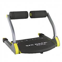 Многофункциональный напольный тренажер для пресса для дома GymBit Six Pack Care 6-в-1 Black