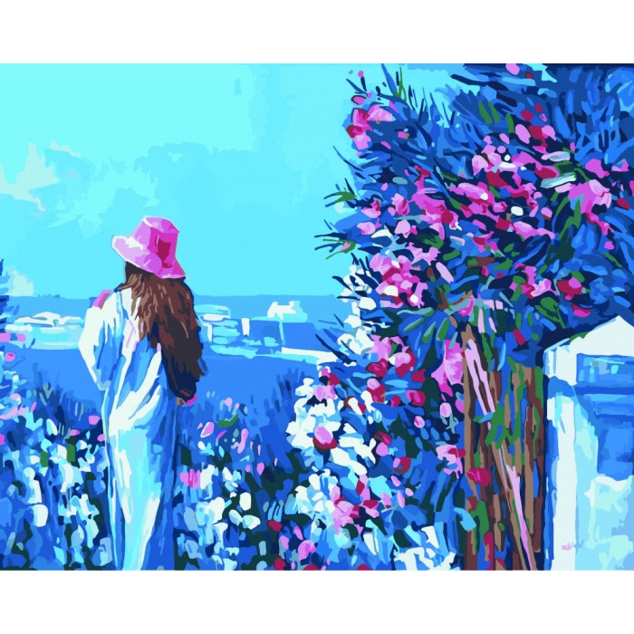Картина по номерам Идейка - Прогулка по набережной 40x50 см (КНО2119)