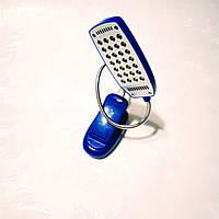 Портативный светильник-лампа с клипсой 28 LED синий